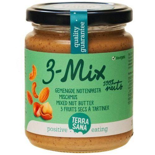 Terrasana Krem orzechowy mix (3 orzechy) bio masło orzechowe 250g (8713576100143)