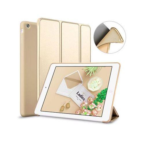 Etui smart case apple ipad air silikon złote - złoty marki Alogy