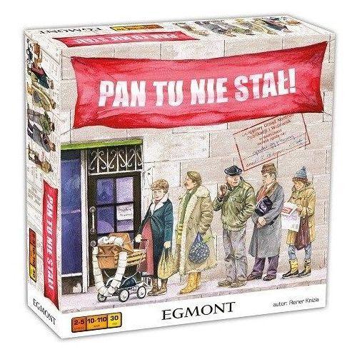 Gra EGMONT Pan tu nie stał!. Najniższe ceny, najlepsze promocje w sklepach, opinie.