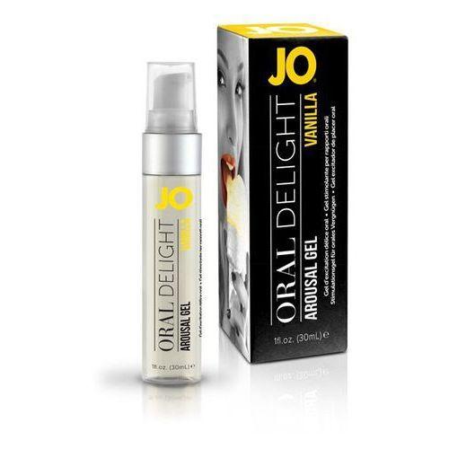 Żel do seksu oralnego - oral delight vanilla thrill 30 ml wanilia marki System jo