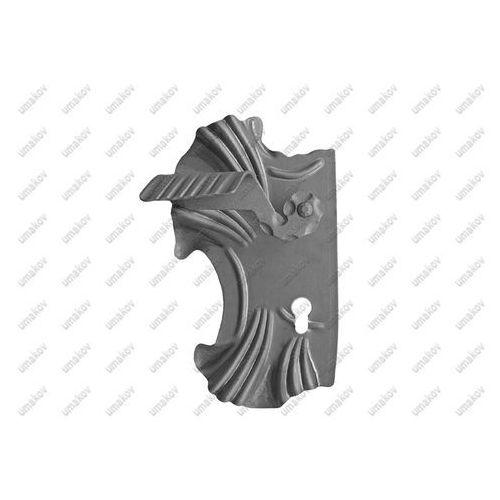 Klamka z szyldem 285x160, t2, a90, d20mm marki Umakov