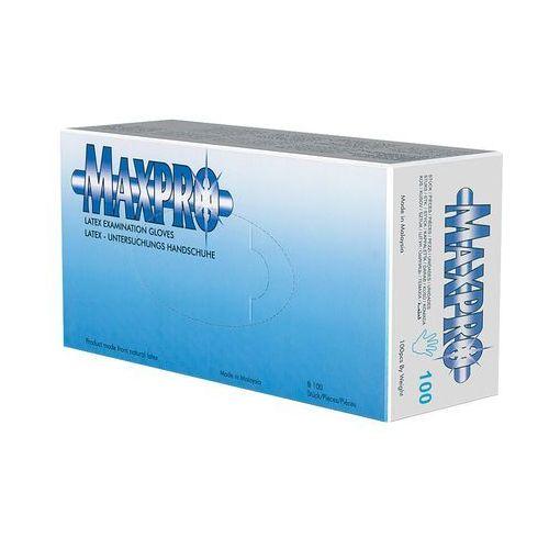 rękawiczki lateksowe białe s marki Maxpro