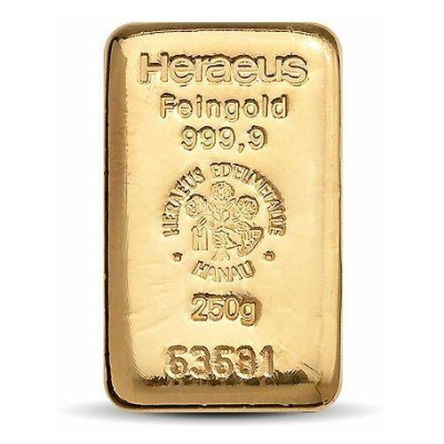 250 g sztabka złota - 15dni