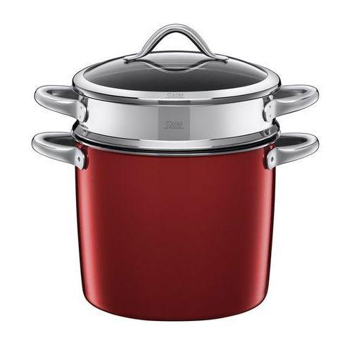 Silit - Garnek z wkładem i z pokrywą do gotowania makaronu 24 cm - Vitaliano Rosso - dostawa GRATIS 05.12.2018, 2131274971
