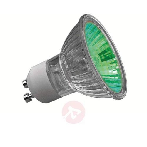 Reflekt. lampa halogen. TRUECOLOR GU10 50W zielona