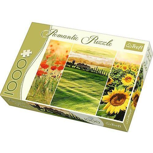 Puzzle 1000 elementów Romantic. Słoneczna Toskania 10410