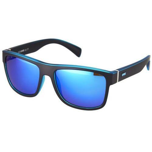 UVEX lgl 21 Okulary rowerowe niebieski/czarny Okulary (4043197261386)