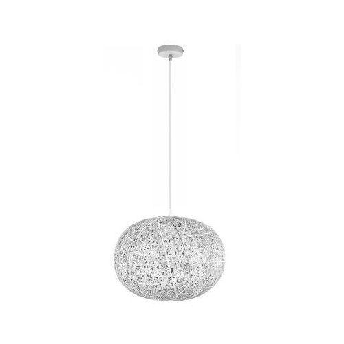 Tk lighting Żyrandol na drutu backaz white 1xe27/60w/230v (5901780518615)