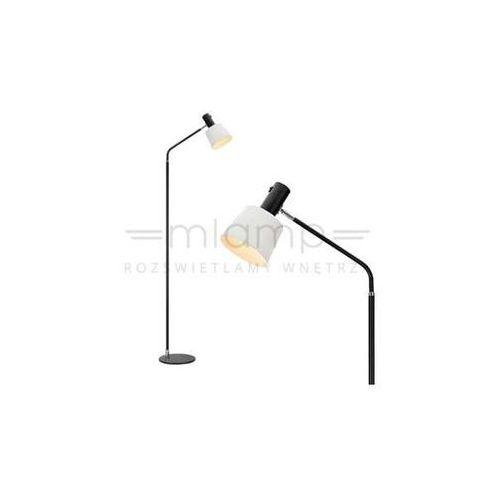 LAMPA podłogowa BODEGA 107219 Markslojd salonowa OPRAWA stojaca biała czarna