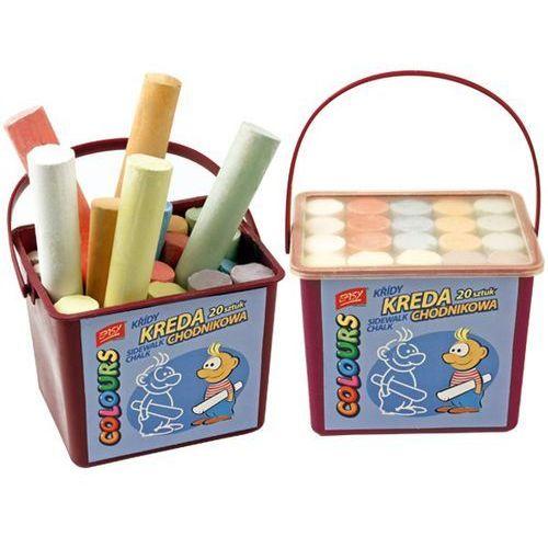 Easy stationery Kreda chodnikowa easy 88302 6 kolorów (20 sztuk) (5907640883022)
