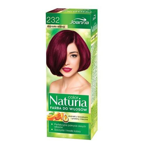 Joanna Naturia Color Farba do włosów Dojrzała Wiśnia nr 232, 525232