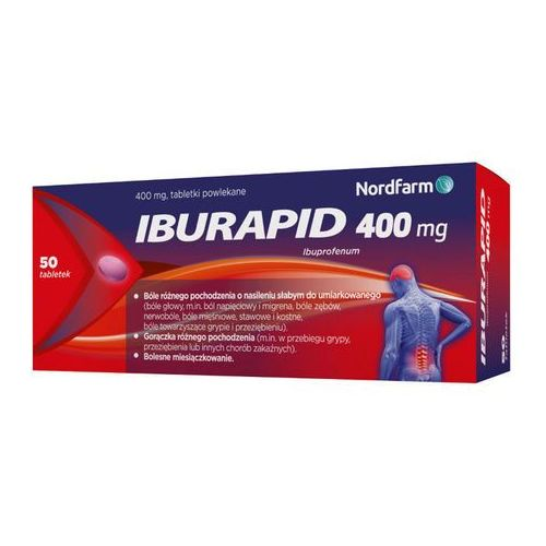 Iburapid 0,4g x 50 tabletek