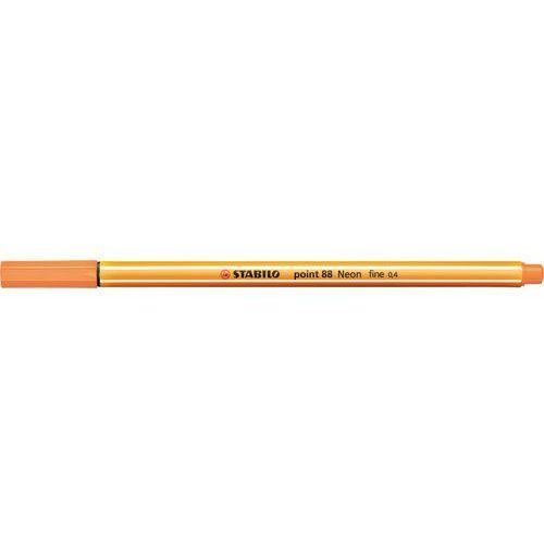 Cienkopis Stabilo point 88. neonowy pomarańczowy, 88/054