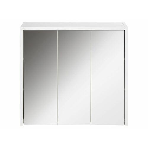 LIVARNO® Szafka wisząca z lustrem biała