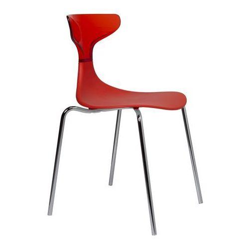 Krzesło steam punk czerwone marki Green