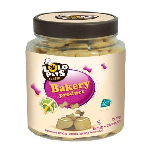LOLO PETS Ciastka dla psa kości S bananowe 210 g - DARMOWA DOSTAWA OD 95 ZŁ! (5904479806062)