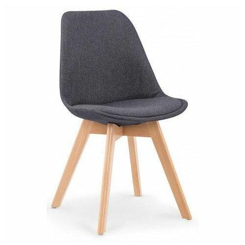 Elior.pl Krzesło drewniane nives - ciemny popiel