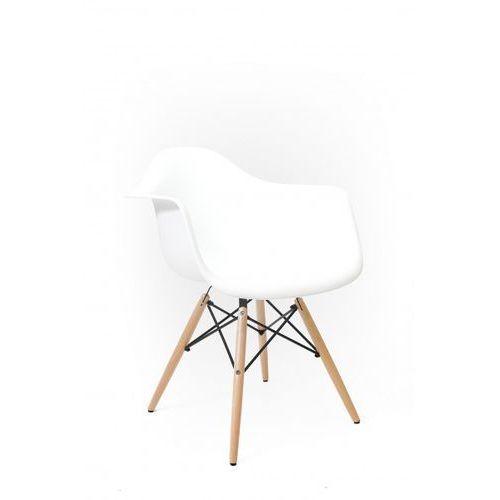 Signu Design Krzesło AGI białe, kolor biały