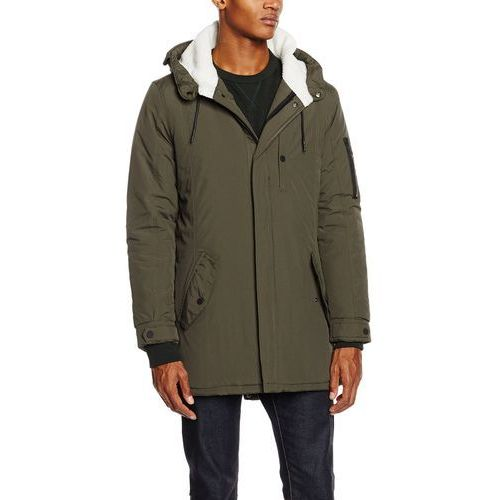 Brave Soul Płaszcz mężczyźni, kolor: zielony, rozmiar: XL, kolor zielony