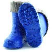 Kalosze dziecięce ocieplane termix 861 - niebieski marki Lemigo