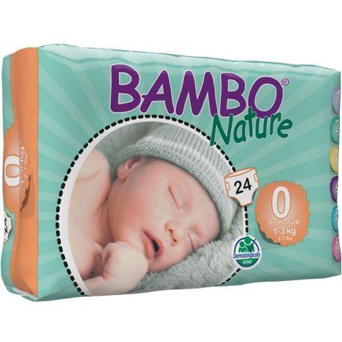 Bambo nature premature (1-3kg) 24 szt. - pieluszki jednorazowe (5710811431003)