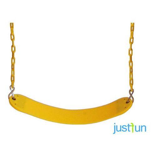 Huśtawka elastyczna na łańcuchu powlekanym - żółty