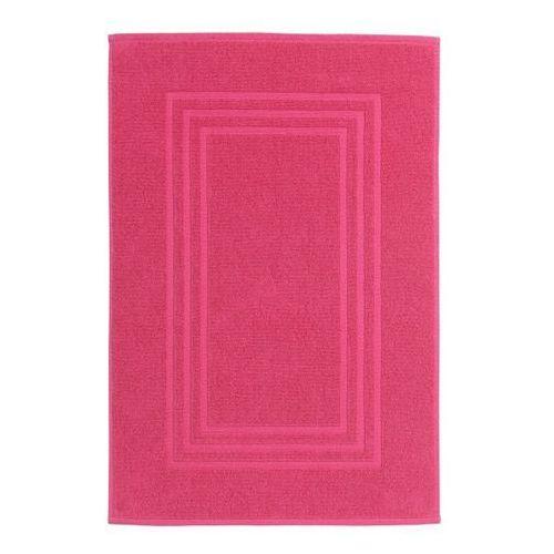 Dywanik łazienkowy palmi bawełniany 50 x 80 cm różowy marki Cooke&lewis