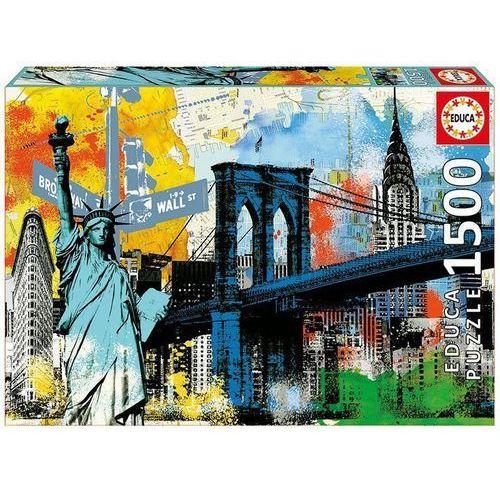 Puzzle 1500 elementów, Miejska wolność - DARMOWA DOSTAWA OD 199 ZŁ!!! (8412668171206)