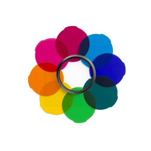 Manfrotto  lumie zestaw filtrów multicolour (8024221640717)