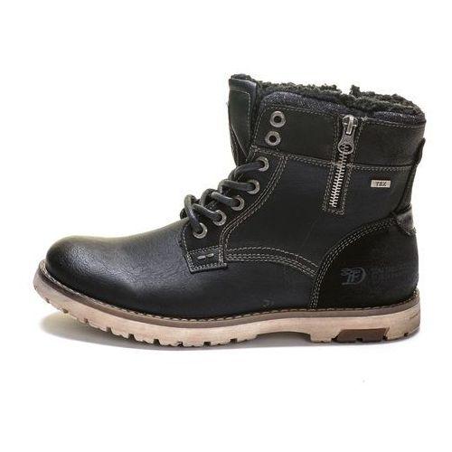 buty za kostkę męskie 41 czarny marki Tom tailor