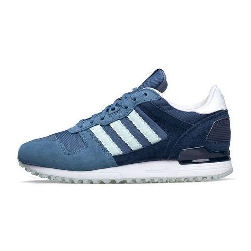 Adidas Buty originals zx 700 s79799 - błękitny ||fioletowy ||granatowy