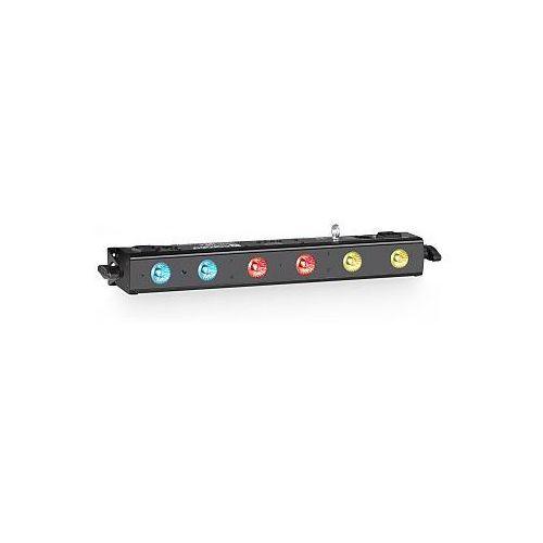 Cameo light  tribar 100 ir - 6 x 3 w tri led bar, kategoria: pozostałe dj i karaoke