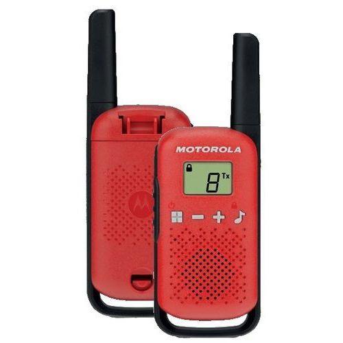 Radiotelefon MOTOROLA Talkabout T42 Czerwony + Zamów z DOSTAWĄ JUTRO! + DARMOWY TRANSPORT!