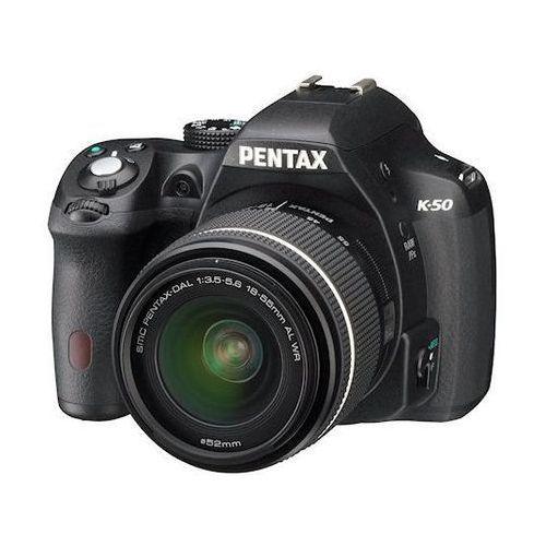 Pentax K-50 Czarny + DA 18-135WR - sprawdź w wybranym sklepie