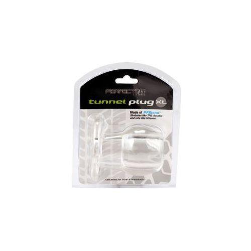 Ass tunnel plug silicone tpr extra large (przeźroczysty), marki Perfect fit (usa)