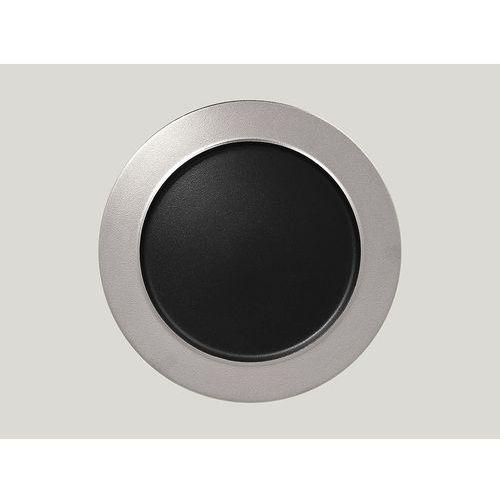 Rak Talerz płaski z rantem 320 mm, srebrny | , metalfusion