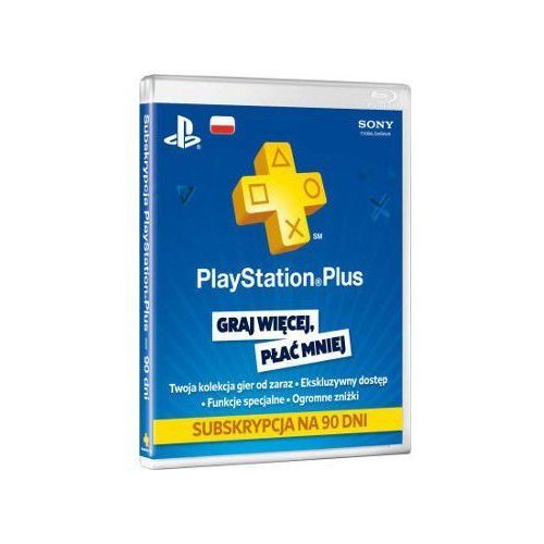 OKAZJA - Sony PlayStation Plus Card 90 Day 9235644