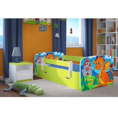 Łóżko dziecięce Kocot-Meble BABYDREAMS SMOK Z ZAMKIEM Kolory Negocjuj Cenę, Kocot-Meble