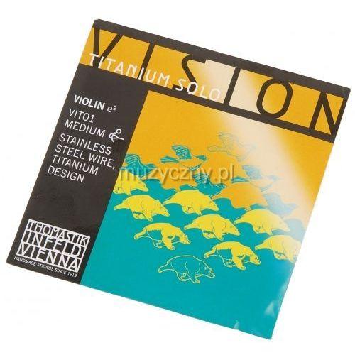 Thomastik Vision Titanium Solo E VIT01 struna skrzypcowa 4/4