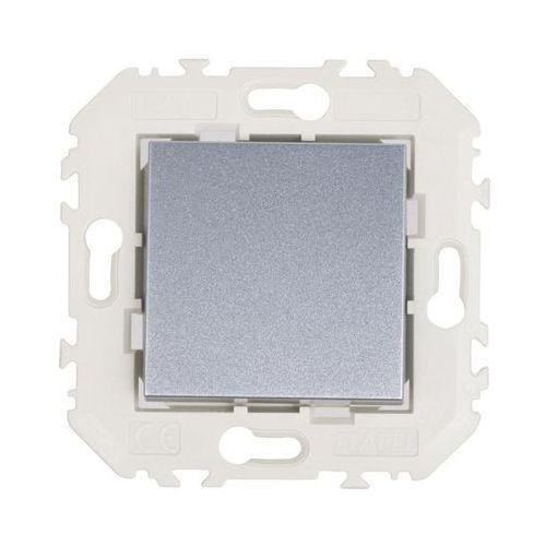 Efapel Włącznik pojedynczy quadro aluminium