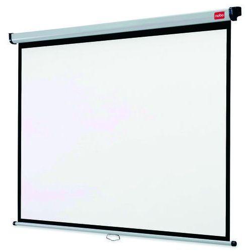 Ekran projekcyjny NOBO 1902393 Matt White 200 x 151,3 cm, 1902393