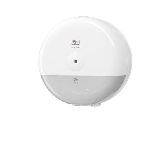 Dozownik do papieru toaletowego mini smartone® biały marki Tork