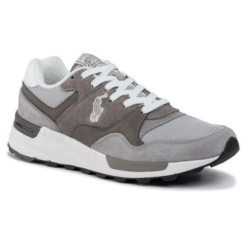 Sneakersy POLO RALPH LAUREN - Trckstr Pony 809773080002 Grey Museum/Grey Silver, kolor szary