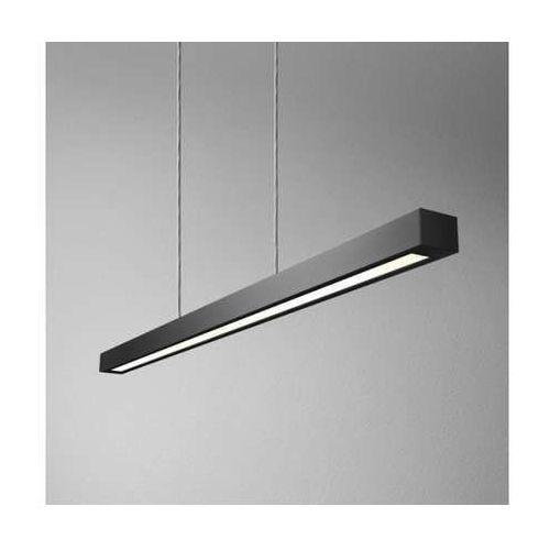 Lampa wisząca set raw 120 fluo 54411-l000-d9-00-02 1x28w t5 czarny mat marki Aquaform