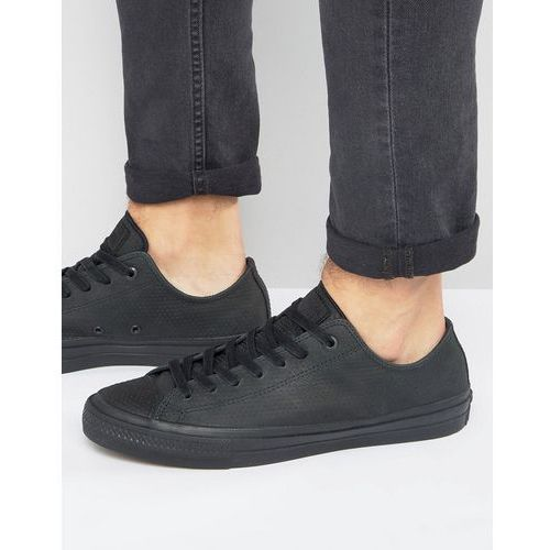 chuck taylor all star ii ox plimsolls in black 155765c - black marki Converse