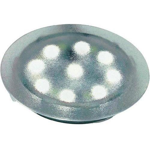 Lampa LED do zabudowy Paulmann 98794, 3 x 1 W, 6500 K;120 °, 230 V/12 V, przezroczysty, 98794