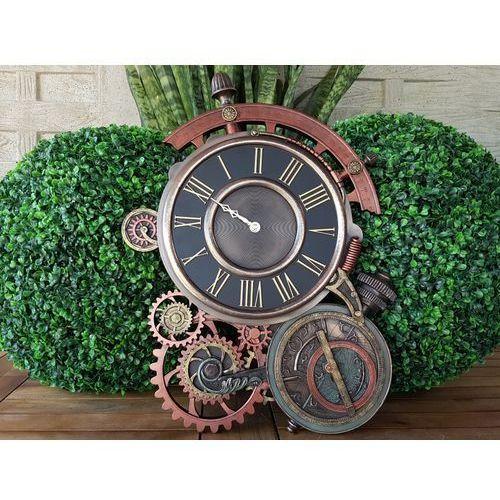 Veronese Steampunk astrolabium – zegar ścienny (wu77046a4)