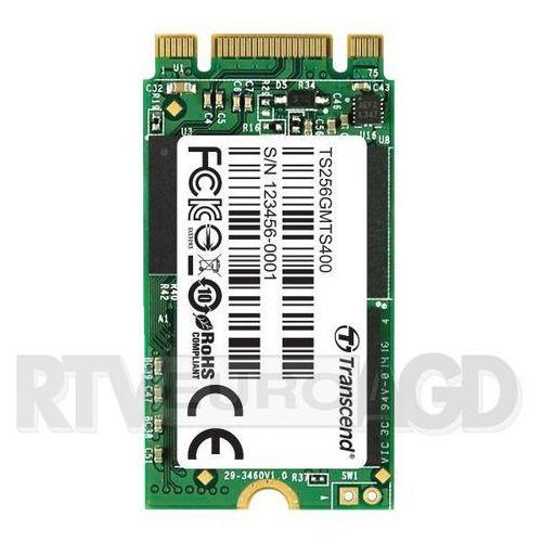 Transcend MTS400 256GB M.2 SATA III - produkt w magazynie - szybka wysyłka!