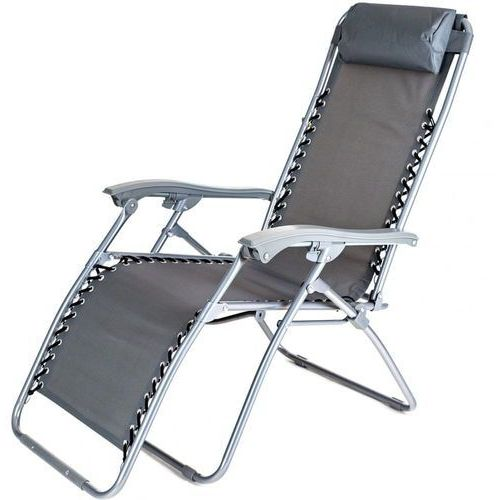 Happy green krzesło ogrodowe składane garden 165 cm antracyt (8591022461440)