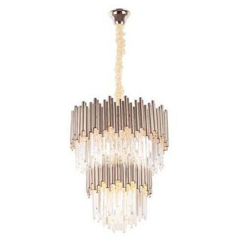 Maxlight vogue p0283 lampa wisząca zwis 16x40w e14 złota